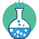 chemical, conical flask, erlenmeyer flask, flask, lab, laboratory experiment icon