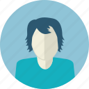 avatar, flat design, health care, male, medicine, people, woman icon