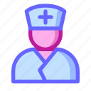 care, doctor, health, help, hospital, medical, nurse icon