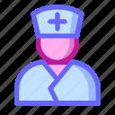 care, doctor, health, help, hospital, medical, nurse icon