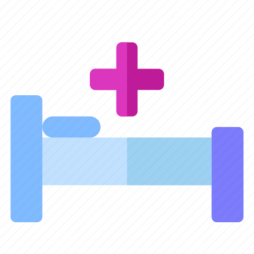bed, care, cozy, health, hospital, medical, treatment icon