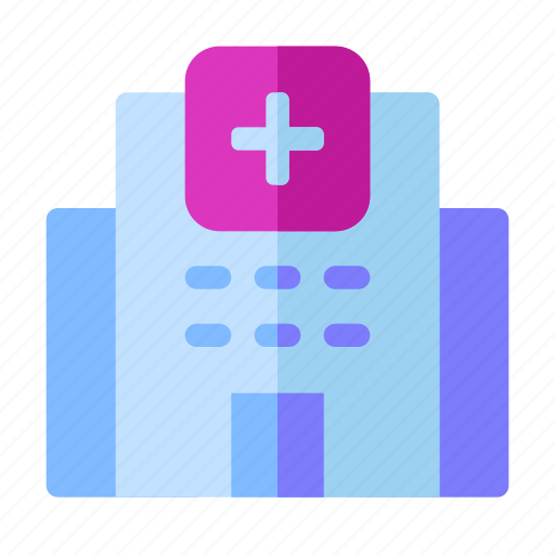 building, clinic, healing, health, hospital, medical, treatment icon