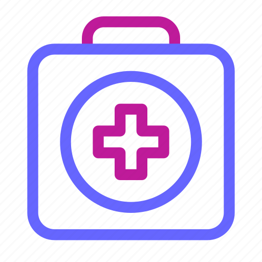 bag, doctor, first, help, hospital, medical, medicine icon