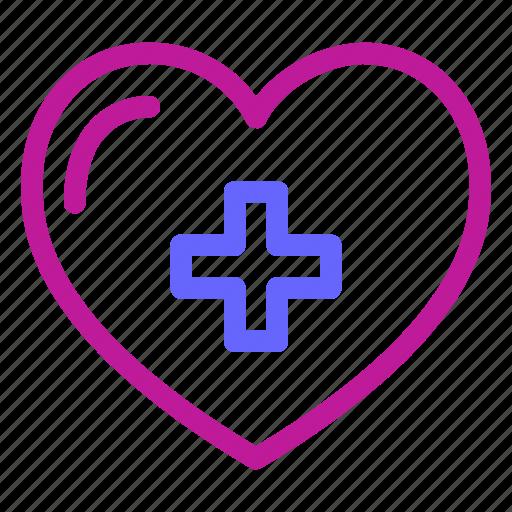 beat, cardiac, doctor, health, heart, hospital, medical icon