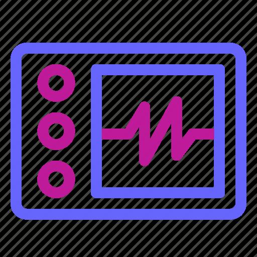 beat, health, heart, medical, medicine, monitor, pulse icon