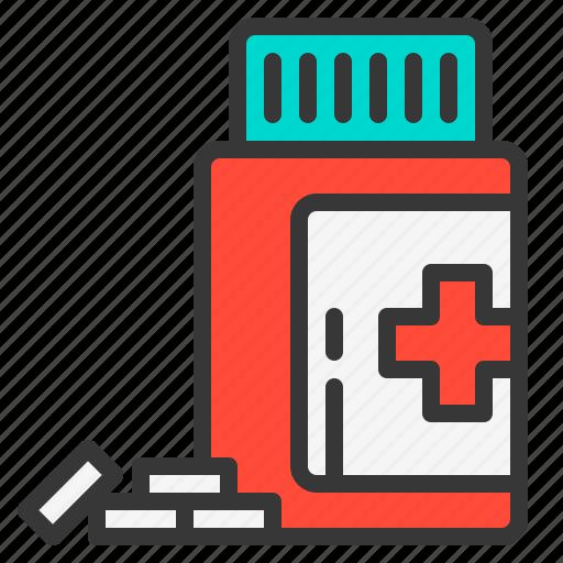 drug, health, hospital, medical, medicine, pill, tablet icon