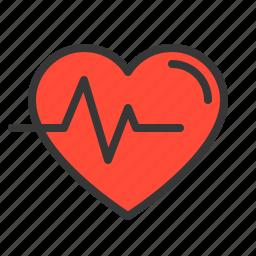 beat, health, heart, heartbeat, hospital, medical, medicine icon