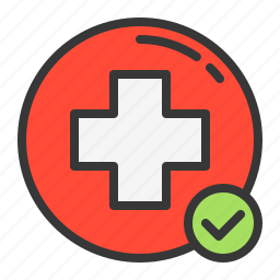 health, hospital, medical, medicine, right, yes icon
