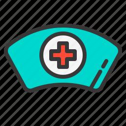 doctor, hat, health, hospital, medical, medicine, nurse icon