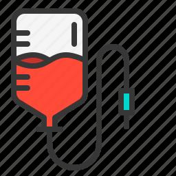blood, donation, health, medical, transfusion icon