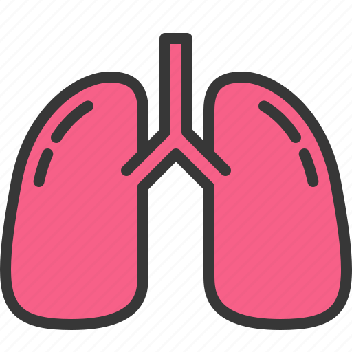 body, health, hospital, lung, medical, medicine, smoke icon