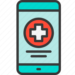 app, health, medical, medicine, mobile, phone icon