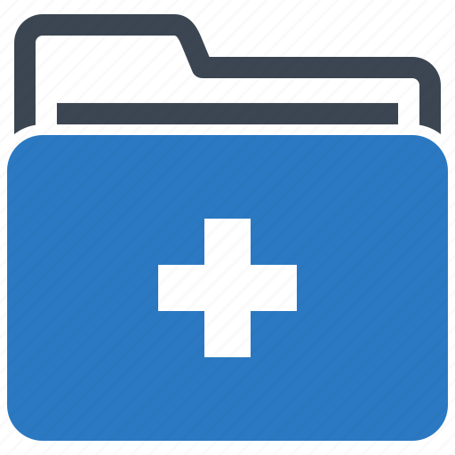 Folder, health records, medical files icon | Icon search ...