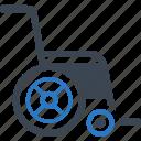 handicap, wheelchair, disability icon