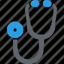 medical aid, medical help, stethoscope icon