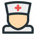 health, hospital, medical, medicine, nurse, paramedic, pharmacy icon