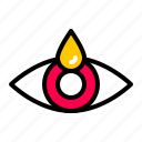 drop, eye, medicine icon