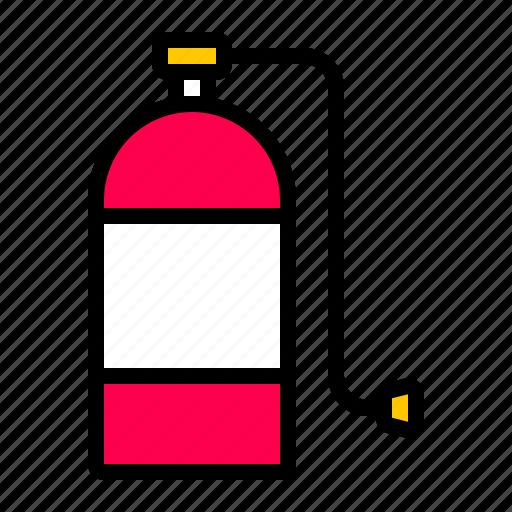 medical, oxygen, tank icon