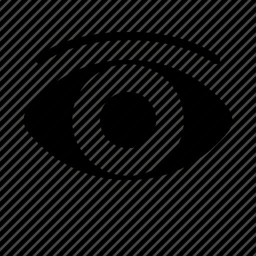 eye, health, hospital, medical, medicine, sight, vision icon