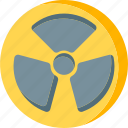 alert, danger, emergency, hospital, medic, poison, raditation icon