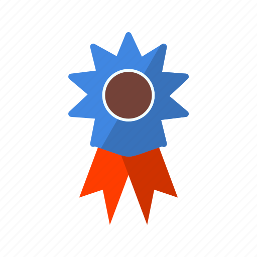 achievement, reward, ribbon, winner icon