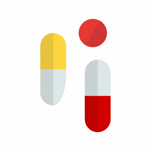 drugs, pills, tablets icon