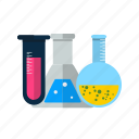 flask, lab, test tubes icon