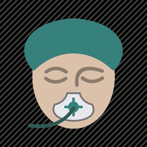 anesthesia, emergency, healthcare, surgery icon