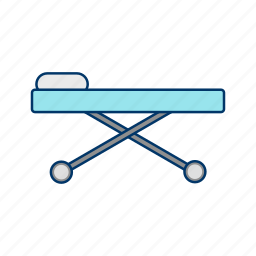 accident, aid, ambulance, assistance, bed, care, care patient icon