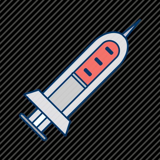 injection, medical, syringe, treatment icon