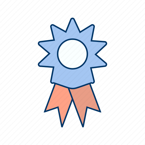 achievement, award, medal, prize, reward, ribbon, winner icon