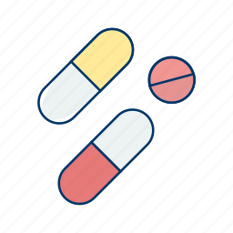 health, medicine, medicines, pharmacy, pills, recovery, treatment icon