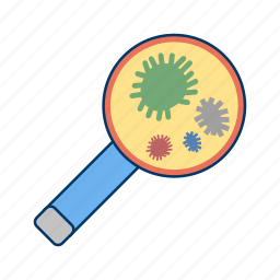 bacteria, germs, medical, virus icon