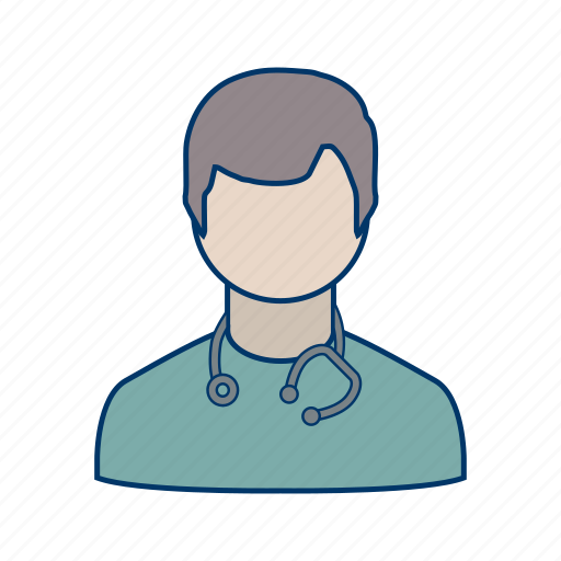 doctor, healthcare, medical, stethoscope icon