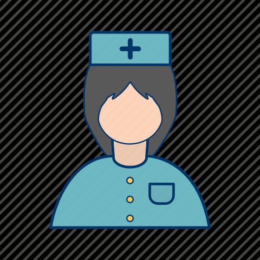 avatar, healthcare, nurse icon
