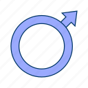 gender, male, sex icon