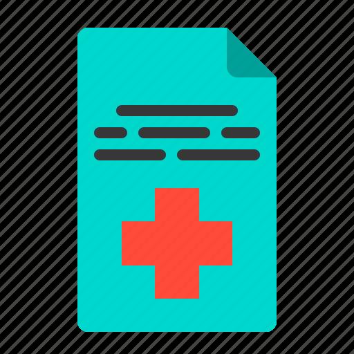diagnosis, document, health, hospital, medical, medicine, patient icon