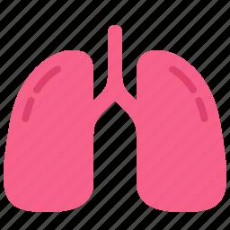 body, health, hospital, lung, medical, medicine, smoke icon