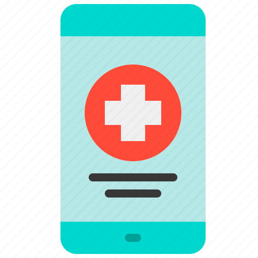 app, health, hospital, medical, medicine, mobile, treatment icon