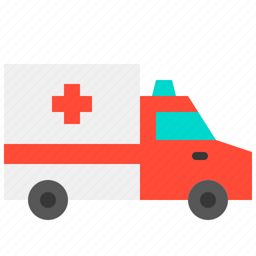 ambulance, car, emergency, health, hospital, medical, medicine icon