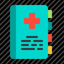 document, folder, health, hospital, medical, medicine, treatment icon