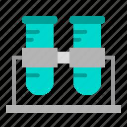 beaker, chemistry, health, hospital, medical, test, tube icon