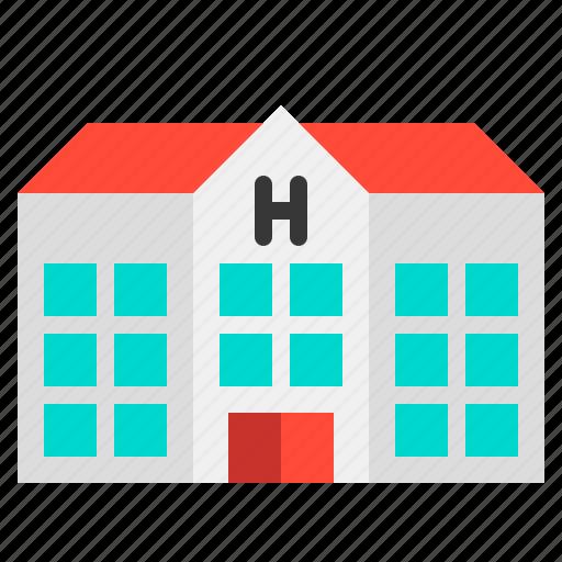 building, doctor, health, hospital, medical, medicine icon