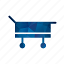 ambulance, emergency, healthcare, lcd, stretcher icon