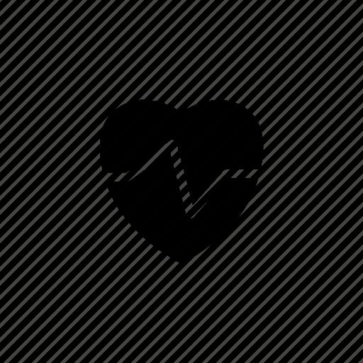 beat, health, heart, life, pulses icon