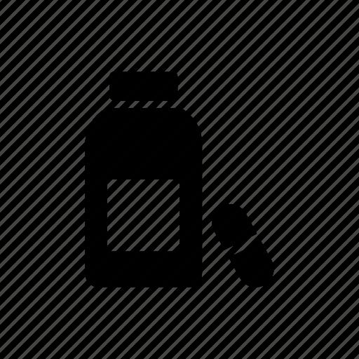 bottle, drugs, jar, medicine, pills icon
