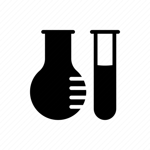 experiment, flask, lab, test, tube icon