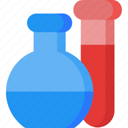 chemistry, glassware, lab, laboratory, research, sample, samples icon