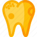 dental, dentist, health, stomatology, teeth, tooth, unhealthy icon