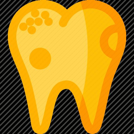 dental, dentist, health, stomatology, teeth, tooth, unhealthy icon